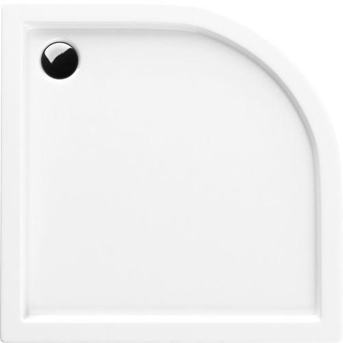 SCHEDPOL COMPETIA Brodzik półokrągły 80cm, akrylowy 3.0163