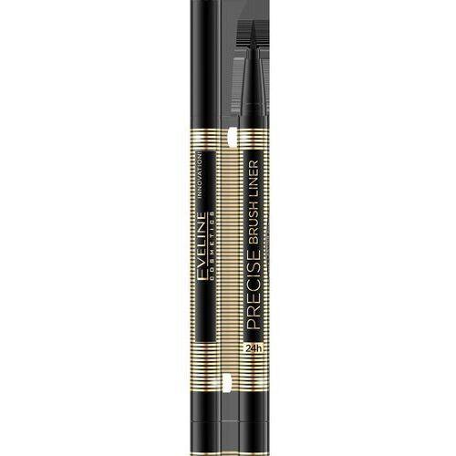 Eveline kolorowka Eveline precise brush liner eyeliner czarny 24h 1szt