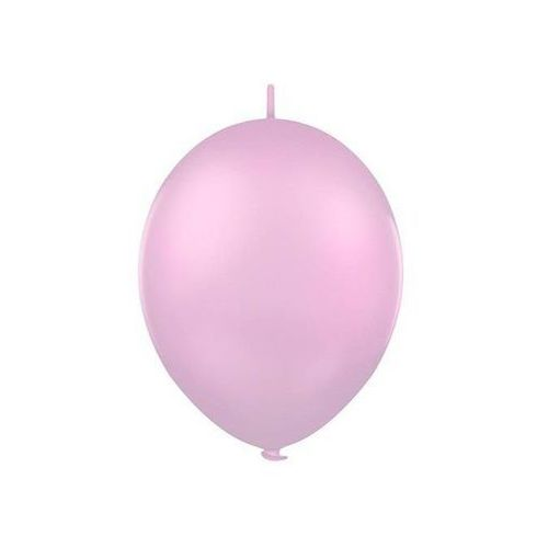 Balon lateksowy pastel róż z łącznikiem 27 cm 1 szt. marki Twojestroje.pl