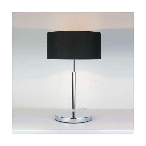 Stojąca lampa stołowa narni lp-3318/1t klasyczna lampka abażurowa czarna marki Light prestige