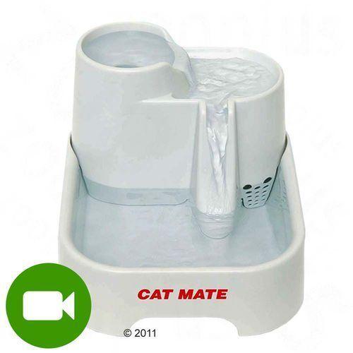 poidełko fontanna - komplet (poidełko, 2 x filtr zapasowy, pompa zapasowa)| darmowa dostawa od 89 zł i super promocje od zooplus! marki Cat mate