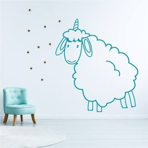 Szablon do malowania dla dzieci owieczka 2546