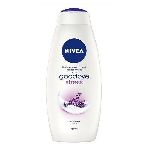 bath care płyn do kąpieli i żel pod prysznic 2w1 goodbye stress 750ml - nivea, marki Nivea