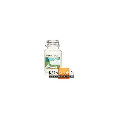 Yankee Candle Świeca duża Clean Cotton 623 g