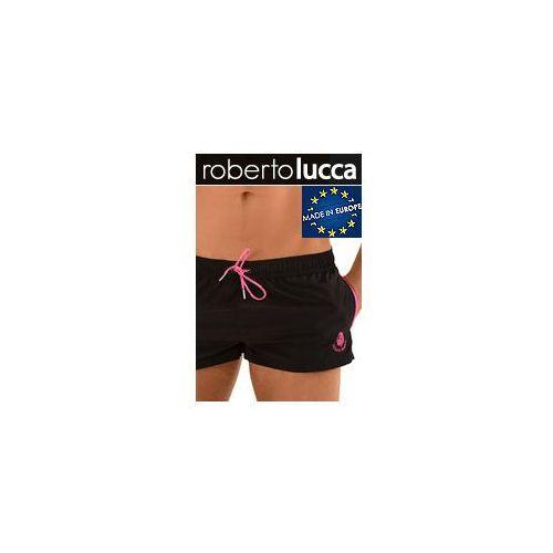 Szorty Kapielowe Męskie Roberto Lucca RL150S142 MONACO black/hot pink, szorty