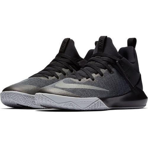 Buty Nike Zoom Shift - 897653-002 - Black/Reflect Silver, kolor czarny