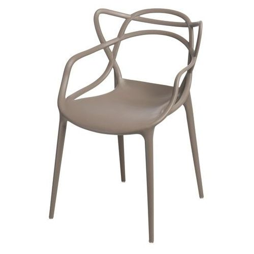 Krzesło Lexi insp. Master Chair (beżowe) D2, kolor szary