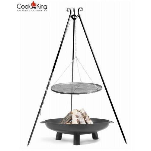 Zestaw grill stal czarna + palenisko bali - 4 rozmiary marki Cookking