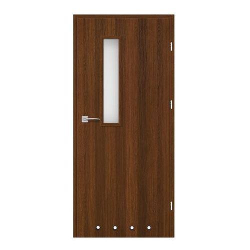 Drzwi z tulejami Exmoor 60 prawe orzech north, SON005023