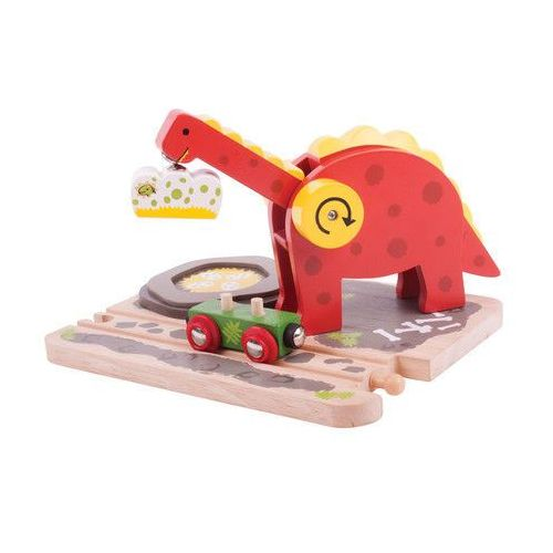 Bigjigs toys Dźwig dinozaur, kategoria: dźwigi