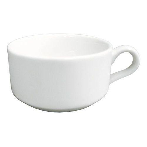 Filiżanka do kawy i herbaty niska sztaplowana rondo 230 ml bacu23d7 marki Rak