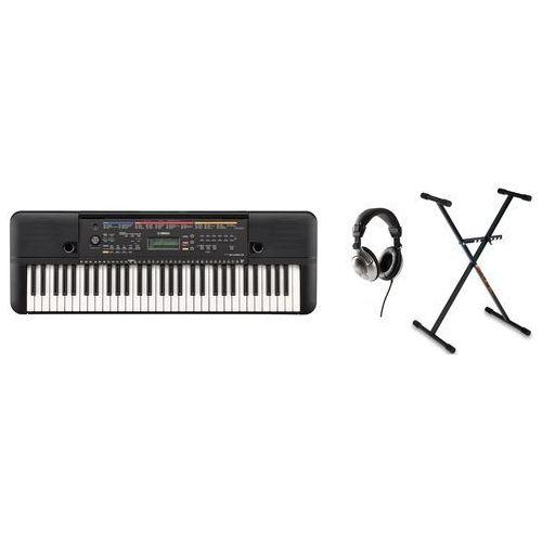YAMAHA PSR-E263 keyboard do nauki gry ze statywem i słuchawkami