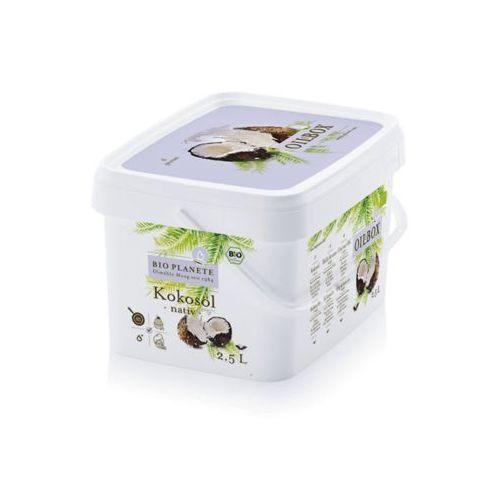 Bio planet Olej kokosowy nierafinowany tłoczony na zimno virgin bio 2,5 l - e
