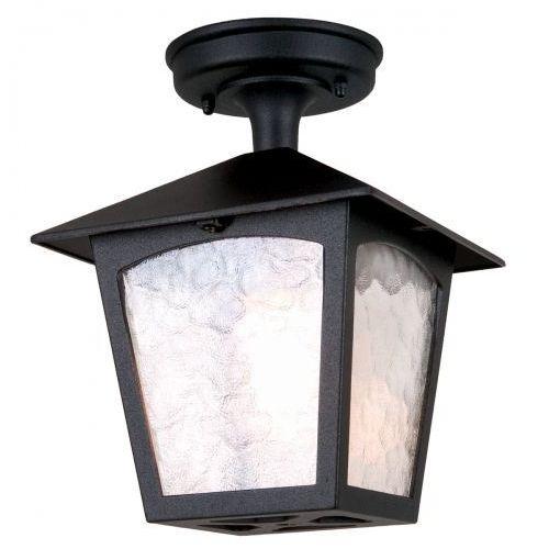 Elstead Zewnętrzna lampa ścienna york bl2 elewacyjna oprawa tarasowa latarenka do ogrodu outdoor ip44 czarna