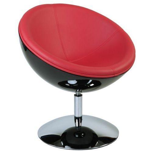 Fotel mercury czarny/czerwony marki D2