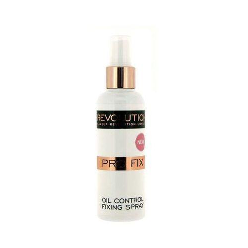 Makeup Revolution Pro Fix Oil Control Fixing Spray Utrwalacz do makijażu 100ml