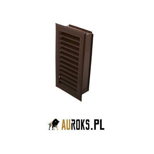 Kratka kominowa 120x240mm kolor: brązowy, 16649970