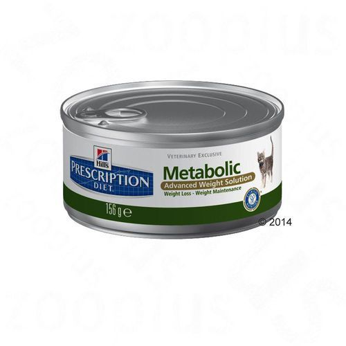 Hill´s Prescription Diet Feline Metabolic, puszki - 12 x 156 g