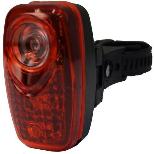 Olpran lampka tylna 3 super red led black (8595243828846)