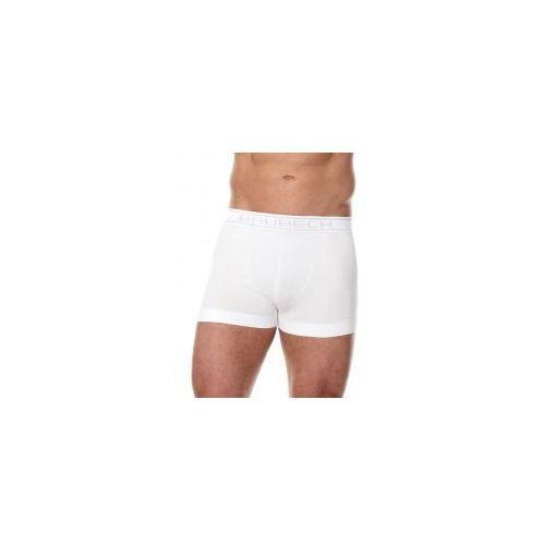 Bezszwowe bokserki męskie Brubeck Comfort Cotton BX00501 białe