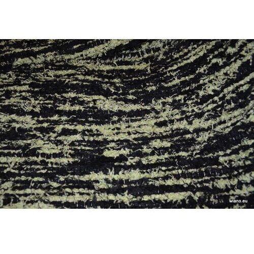 Chodnik bawełniany\pled ręcznie tkany czarno-biały 65x150 marki Twórczyni ludowa