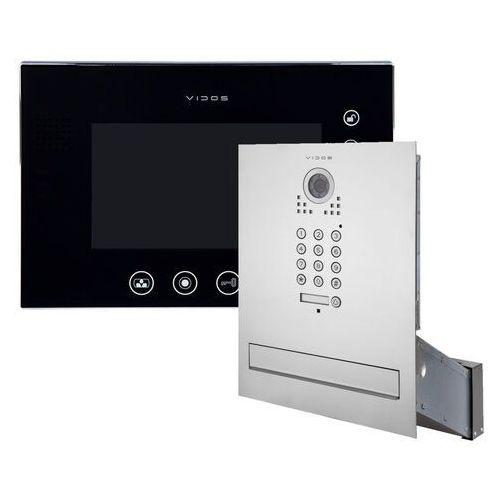 Skrzynka na listy wideodomofon s561d-skm m670bs2 marki Vidos