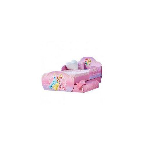 Łóżko 140x70 z szufladami KSIĘŻNICZKI DISNEY PRINCESS