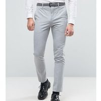 super skinny suit trousers in pale grey - grey marki Selected homme