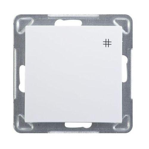 Łącznik podtynkowy Ospel Impresja ŁP-4Y/m/00 krzyżowy biały