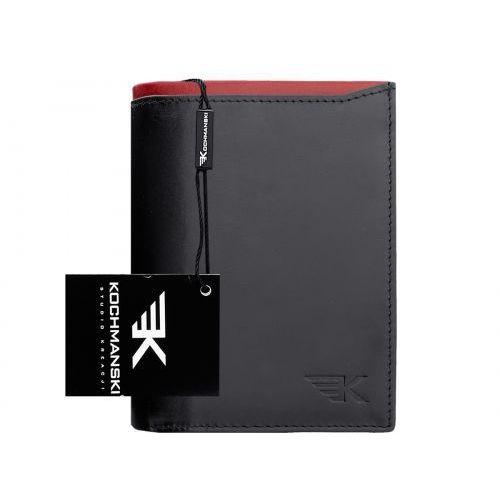 Kochmanski studio kreacji® Skórzany portfel męski kochmanski rfid stop 1206