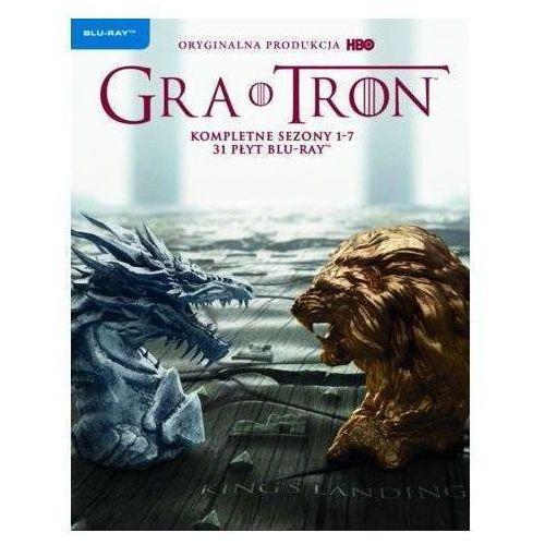 Gra o tron: Pakiet Sezonów 1-7 ( Blu-Ray) - Różni DARMOWA DOSTAWA KIOSK RUCHU (7321999347840)