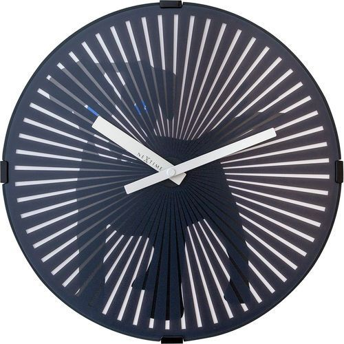 Zegar ścienny z efektem ruchu Dog Nextime 30 cm (3225) (8717713019381)