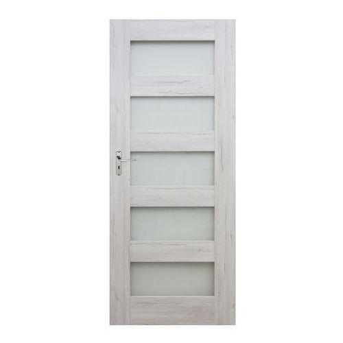 Drzwi pokojowe Winfloor Emma 80 prawe silver