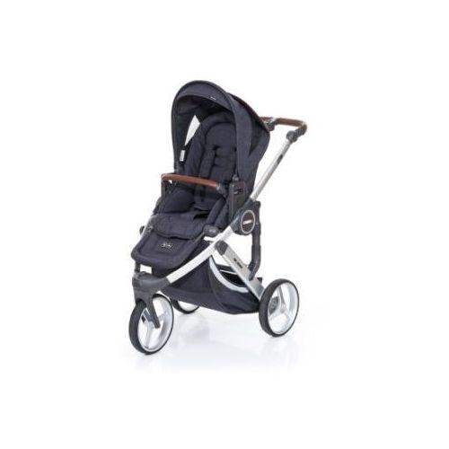 Abc design  wózek dziecięcy cobra plus street-street, stelaż silver / siedzisko street