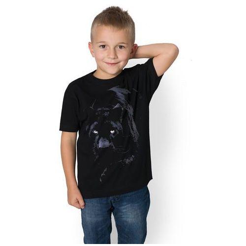 Koszulka dziecięca Czarna Pantera, kolor czarny