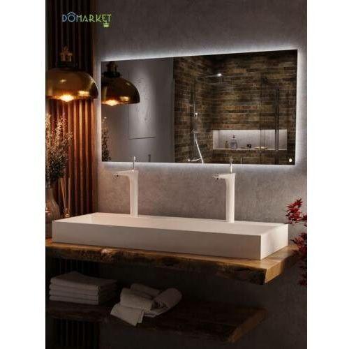Lustro z oświetleniem ledowym do łazienki: VEGAS-05, VEGAS-120X60-05