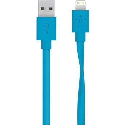 Belkin Kabel do ipad/iphone/ipod  f8j148bt04-blu, [1x złącze męskie usb 2.0 a - 1x złącze męskie apple dock lightning], 1.20 m