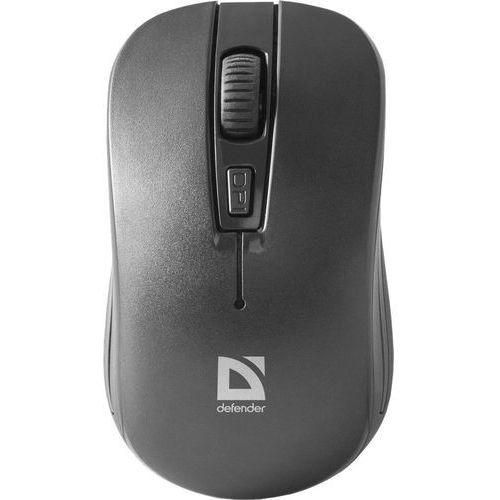 Mysz bezprzewodowa DEFENDER DATUM MS-005 optyczna 1200dpi 4P czarna (4714033520058)