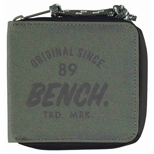 portfel BENCH - Waxed Canvas Wallet Dark Grey (GY048) rozmiar: OS