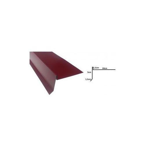 Wiatrownica pod gont bitumiczny lub papę - 0058 STAL POWLEKANA