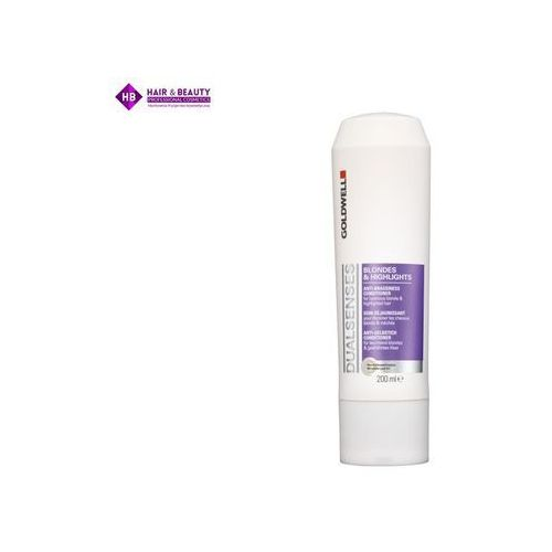 GOLDWELL Dualsenses Blondes & Highlights odżywka do włosów blond 200 ml