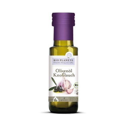 Bio planete (oleje i oliwy) Oliwa z oliwek z czosnkiem bio 100 ml - bio planete