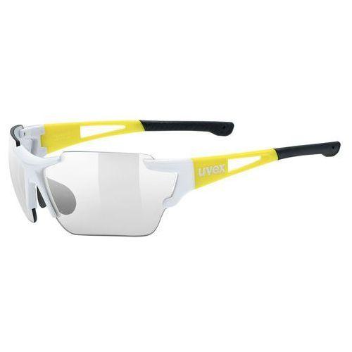 Fotochromowe okulary sportstyle 803 race vm żółty/czarny marki Uvex