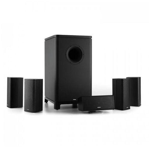 Numan Ambience 5.1 zestaw kina domowego z dźwiękiem przestrzennym 5.1 czarny