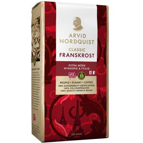 Arvid Nordquist - Franskrost Extra Mork - kawa mielona - 500g (7310760012902)