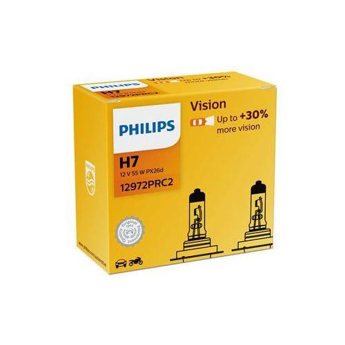 Philips żarówki samochodowe vision h7, 12 v, 55 w (2 szt.) (8727900374322)