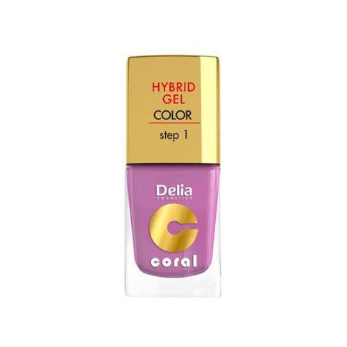 DELIA Hybrid Gel Step 1 05 Pudrowy róż Żelowy lakier do paznokci