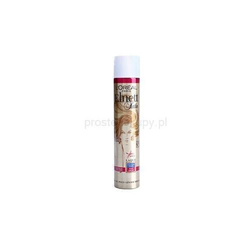 elnett satin lakier do włosów farbowanych z filtrem uv + do każdego zamówienia upominek. marki L'oréal paris