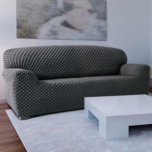 Forbyt Pokrowiec multielastyczny na kanapę Contra szary, 70 - 110 cm