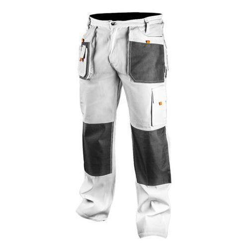 81-120-m spodnie robocze, białe, rozmiar m/50 marki Neo